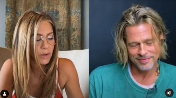 Brad Pitt, Jennifer Aniston appear on screen together for the first time since their divorce - The News International