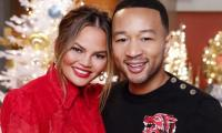 Chrissy Teigen accidentally reveals the sex of her baby with John Legend
