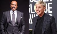 Steve Harvey calls Ellen DeGeneres 'one of the kindest people' in whole showbiz