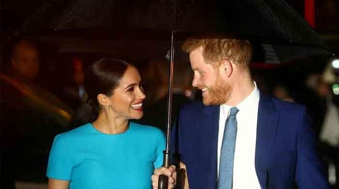 When Meghan Markle broke into tears at Buckingham Palace before her engagement to Harry