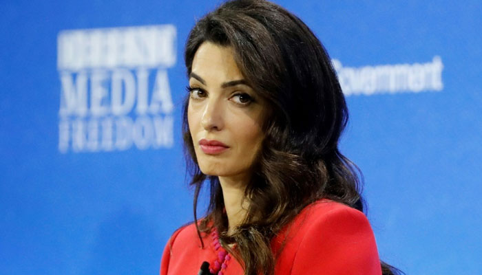 Amal Clooney resigns as envoy after Britains law break plan over Brexit