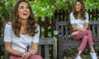 Kate Middleton looks stunning in casual outfit during meeting with 'lockdown babies'