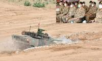 Army chief witnesses Battle Tank VT-4 demonstration