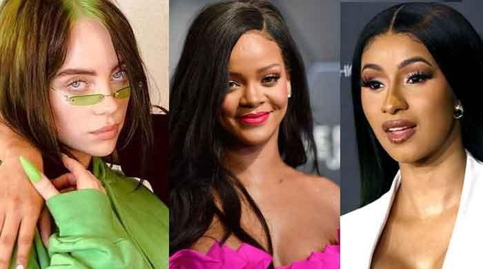 Cardi B, Billie Eilish, Rihanna and other celebrities urge fans to register to vote