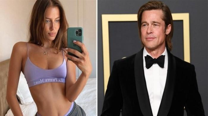 Brad Pitt's new girlfriend Nicole Poturalski accused of 'dating him for attention'