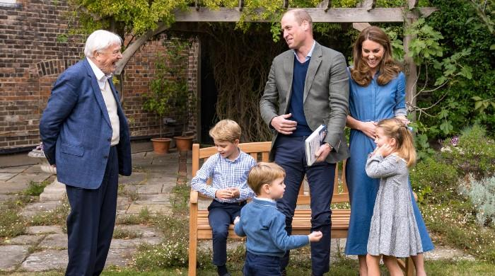Prince George gets a present from Sir David Attenborough, dating back 23 million years - The News International