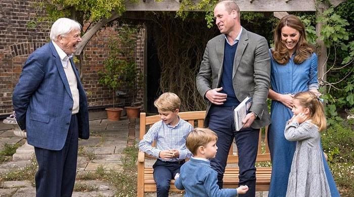 Kate Middleton sparks pregnancy rumours with her latest family photo - The News International