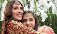 Ayeza Khan and her younger sister Hiba wow in traditional outfit during new styling session