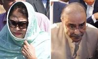 Court indicts Asif Zardari, Faryal Talpur in mega money-laundering case