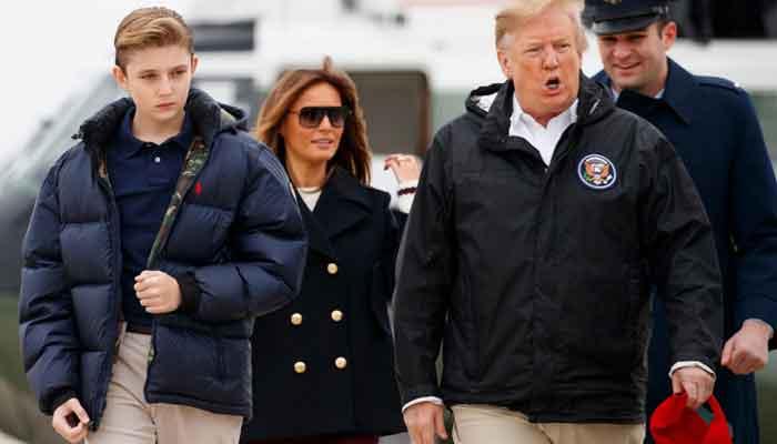Barron Trump Had COVID-19, Melania Trump Says