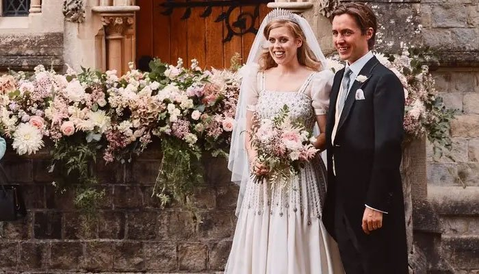 Princess Beatrice thanks fans three months after surprise wedding