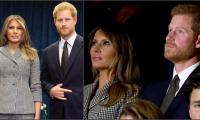Prince Harry was visibly uncomfortable meeting Melania Trump: See photos