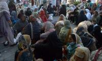 Lady health workers' sit-in protest outside Parliament enters day 6
