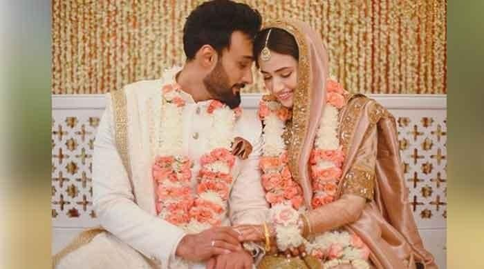 Sana Javed and Umair Jaswal tie the knot