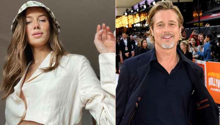 Brad Pitt S Girlfriend Nicole Poturalski Befittingly Responds To Haters With New Message