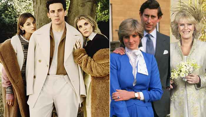 prince charles princess diana and camilla s famous love triangle recreated by the crown stars prince charles princess diana and camilla s famous love triangle recreated by the crown stars