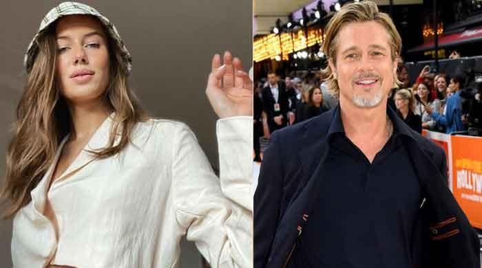 Brad Pitt's girlfriend Nicole Poturalski befittingly responds to 'haters' with new message