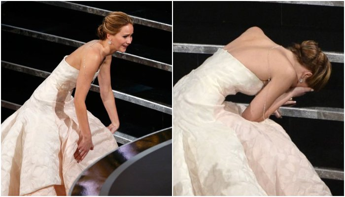 Anderson Cooper claims Jennifer Lawrence faked 2013 Oscars fall