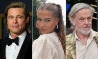 Brad Pitt's girlfriend Nicole Poturalski is back with 'open marriage' husband Roland Mary