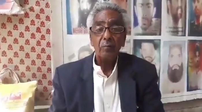Baloch rights activist Mama Qadeer taunted the PPP, PML-N