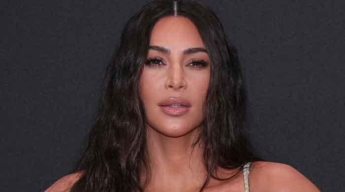 Kim Kardashian trolled for praising her appearance in new pictures