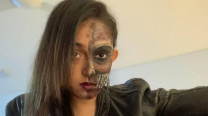 Aamir Khan's daughter Ira Khan celebrates Halloween with friends at home