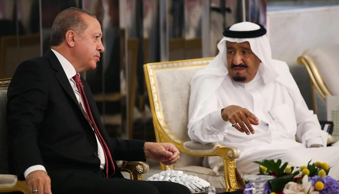 In rare phone call, Turkey's Erdogan, Saudi King Salman discuss ways to enhance ties thumbnail