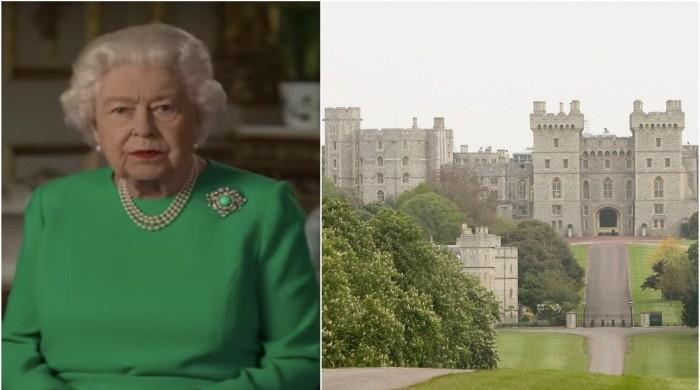 When a 13-hour fire ripping through Windsor Castle devastated Queen Elizabeth