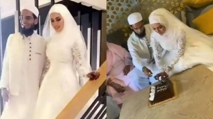 Sana Khan ties the knot with Mufti Anas after Bollywood exit