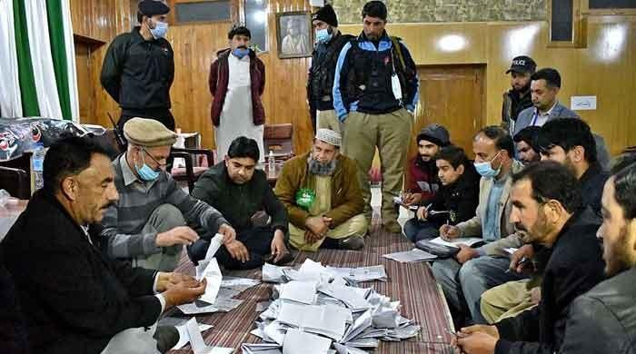 Counting is underway in GBA-3 constituency of Gilgit-Baltistan