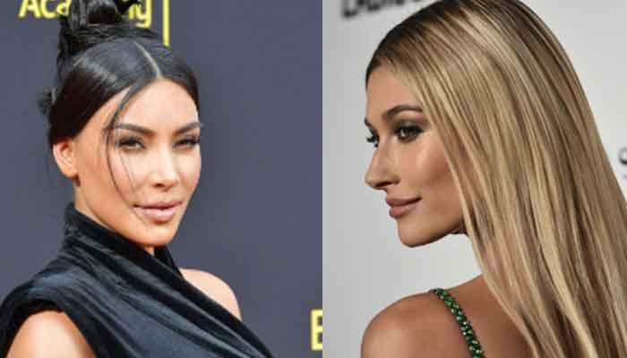 Kim Kardashian shares adorable picture with Hailey Bieber