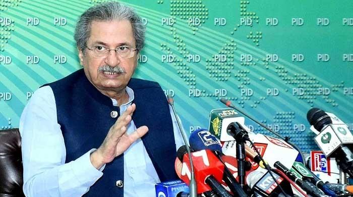 The decision to close the school will be announced on Monday: Shafqat Mahmood