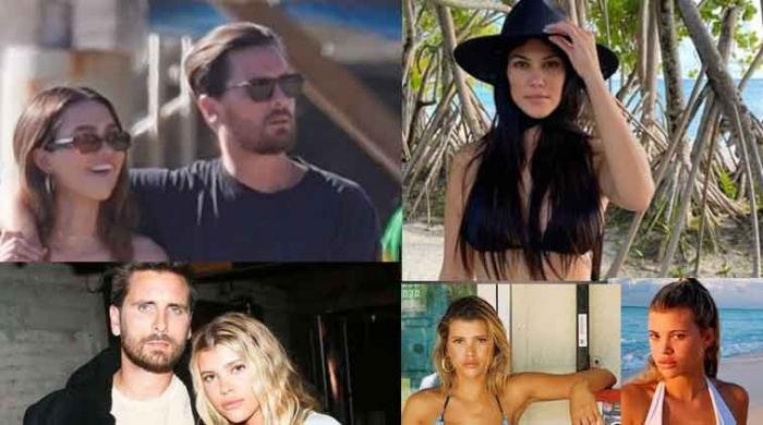 Scott Disick teased by Kourtney Kardashian and Sofia Richie after his date with Amelia Hamlin - The News International