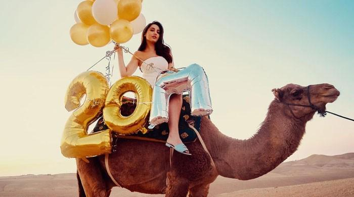 Nora Fatehi finds a new way to amaze fans as she continues celebrations
