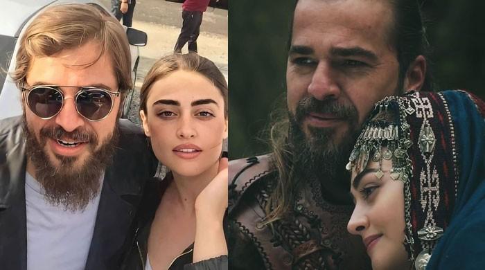 'Ertugrul' stars Engin Altan Duzyatan and Esra Bilgic's new dazzling photo breaks the internet