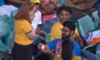 Viral video: Marriage proposal during India-Australia ODI match wins hearts