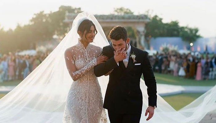 Nick Jonas pens down heartfelt note for wife Priyanka Chopra to celebrate second wedding anniversary