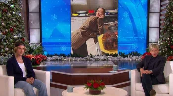 Justin Bieber opens up about having kids with Hailey on Ellen DeGenere... image