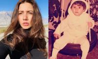 Mahira Khan takes a trip down memory lane with her sweet childhood photo