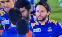 What advice did Shahid Afridi give to Afghan cricketer?