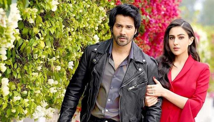 Sara Ali Khan, Varun Dhawan get grooving to Coolie No 1 song