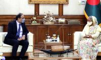 In meeting with Pakistan envoy, Bangladesh's Sheikh Hasina agrees to bolster ties
