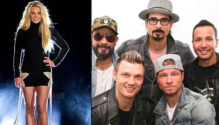 Backstreet Boys, Britney join forces for Matches