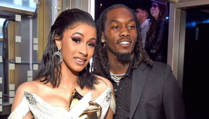 Cardi B and Offset caught partying without masks