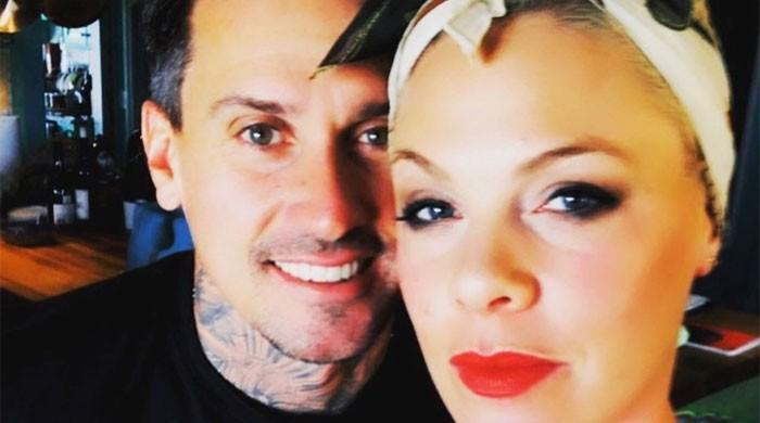 Singer Pink shares a touching post to celebrate 15 years of marriage to Carey Hart