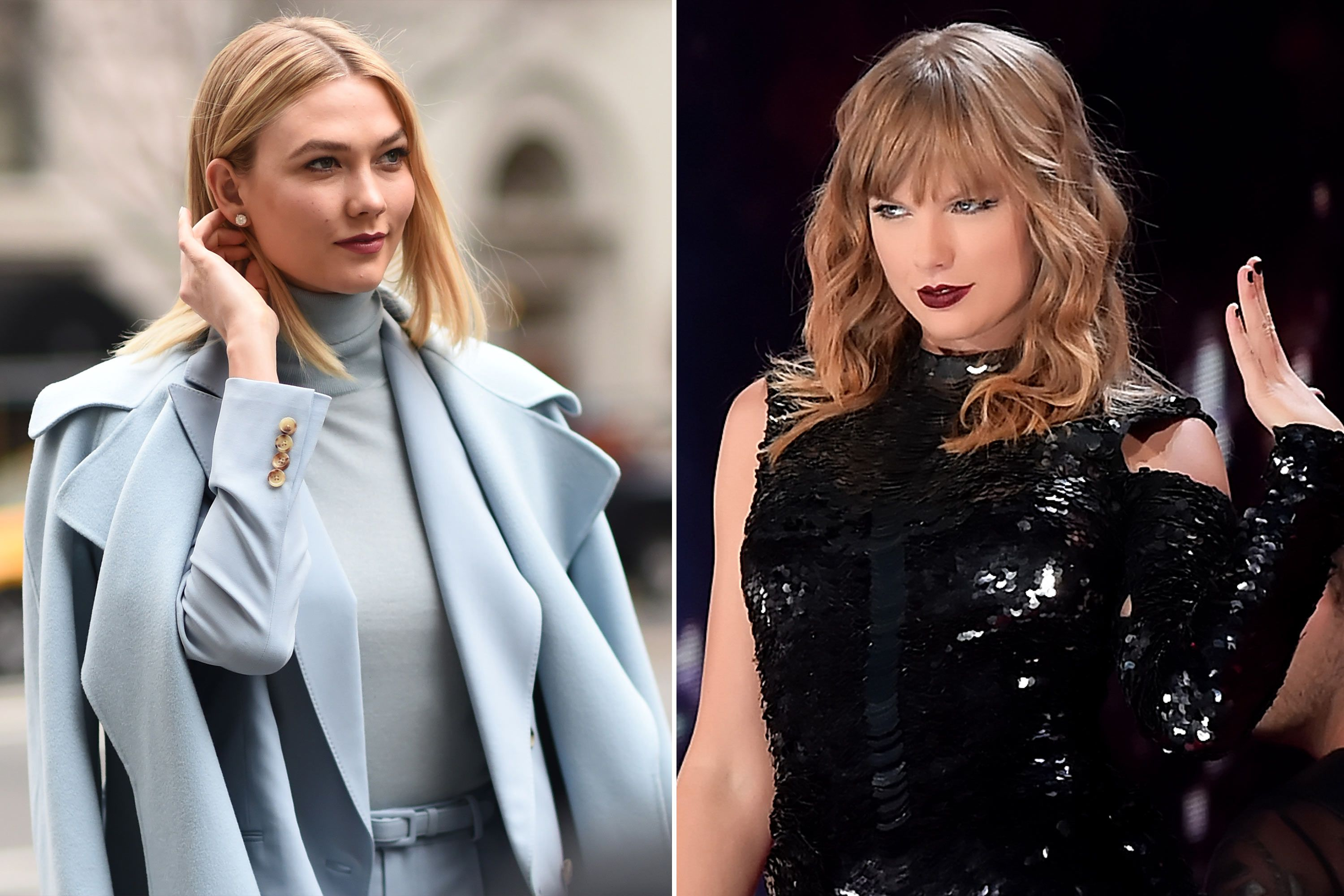 Taylor Swift fans think it's time to go is about Karlie Kloss