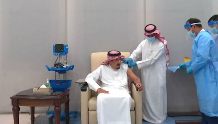 Saudi Arabia's King Salman gets coronavirus vaccine shot thumbnail