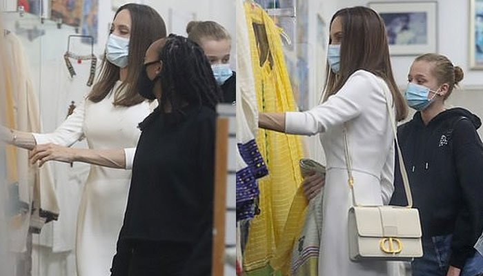 Angelina Jolie takes daughter Zahara for shopping as she turns 16