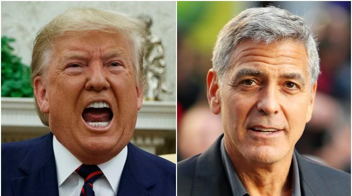 Trump's name will forever be associated with insurrection: George Clooney