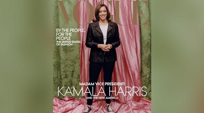 Vogue accused of 'whitewashing' Kamala Harris in cover shoot